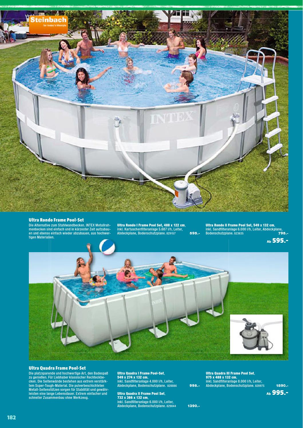 Hagebau gartenkatalog 2015 by busta neumayr og issuu for Hagebau intex pool