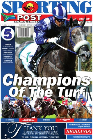 142a5800d19b 24-26 April #2141 Sporting Post by Sporting Post - issuu