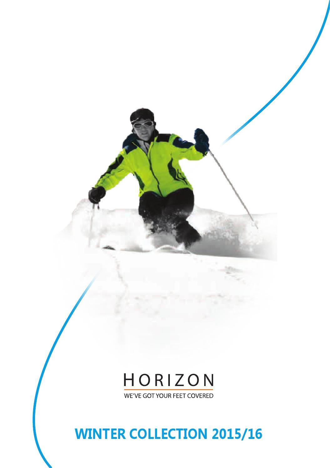 Horizon Alpine Mens Mid-weight Merino Wool Socks Ski Outdoors