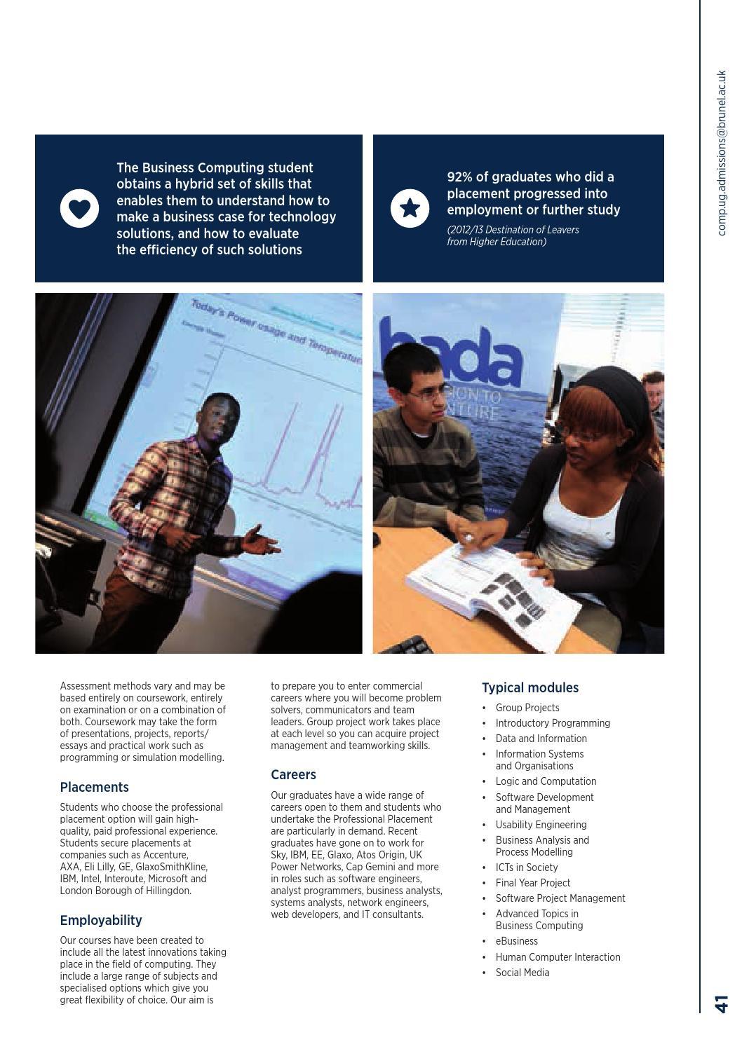 Undergraduate Prospectus 2016 by Brunel University London