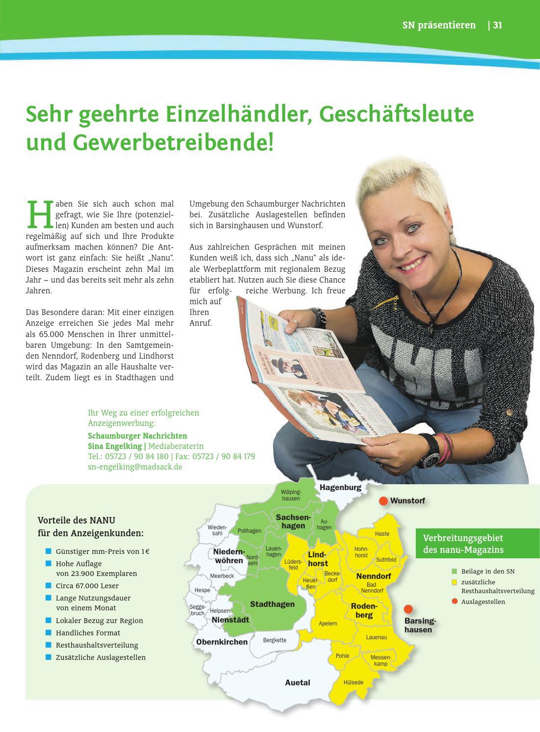Schaumburger Wochenblatt Bekanntschaften :