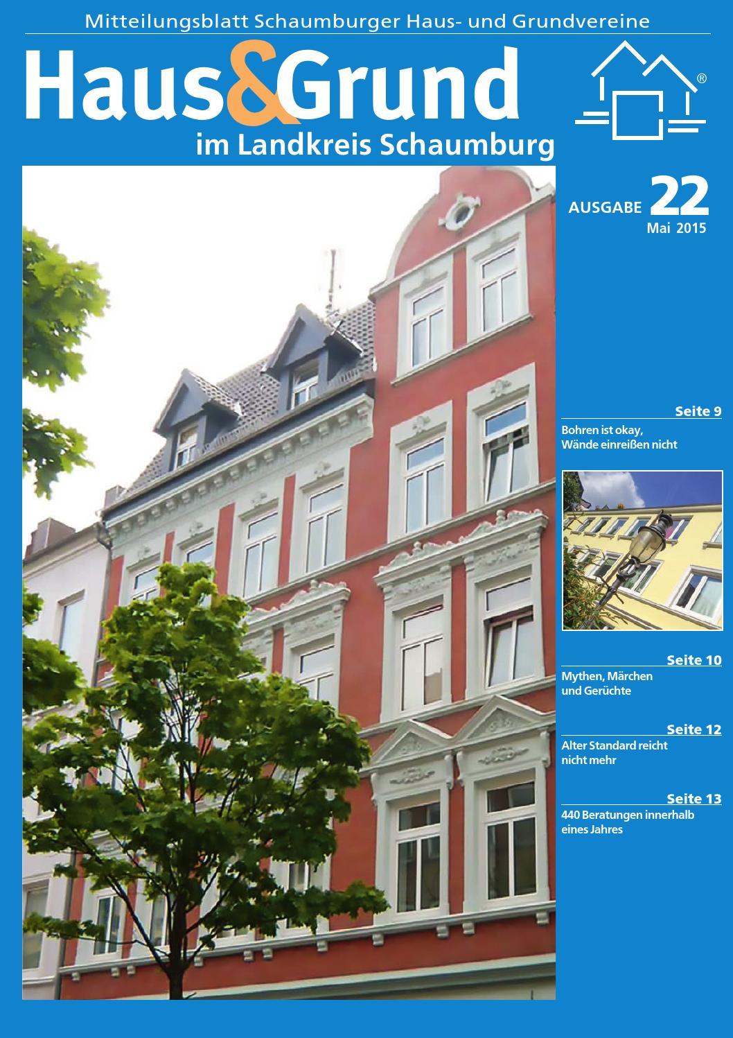 Haus Und Grund In Schaumburg By Schaumburger Nachrichten