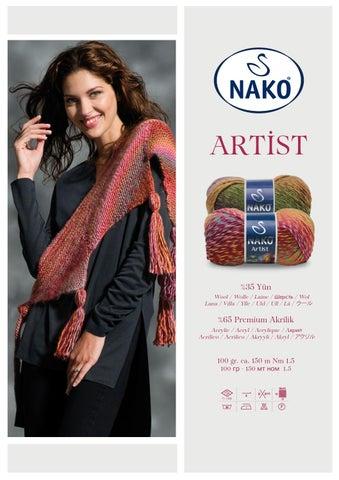 nako artist garn