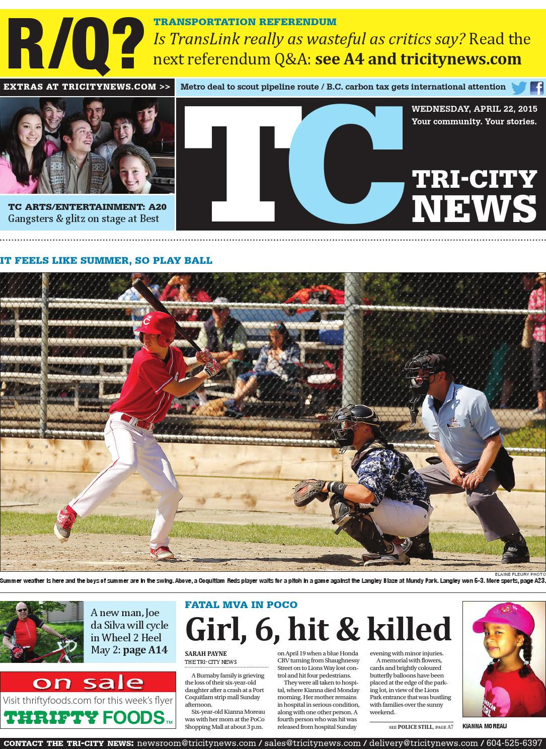The Tri-City News, April 22, 2015 by Black Press Media Group - issuu