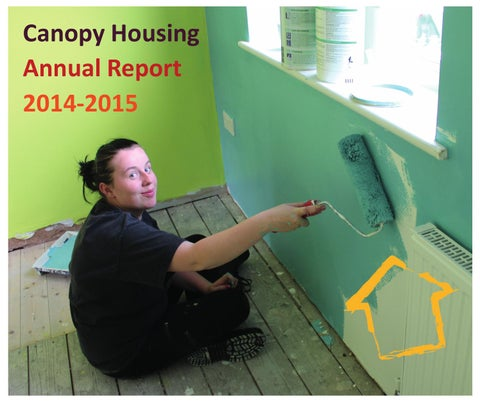 Canopy Housing Annual Report 2014 2015