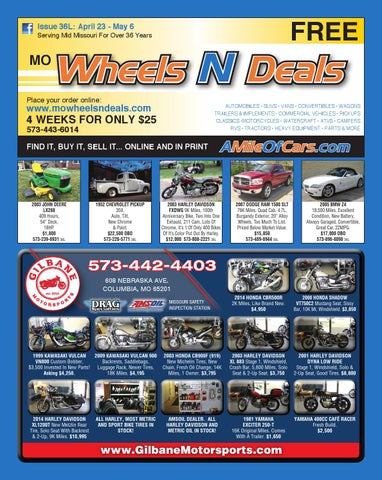 Wheels N Deals, Issue 36L by Maximum Media, Inc  - issuu