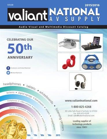 Valiant National AV Supply 2015/2016 by Vcom - issuu