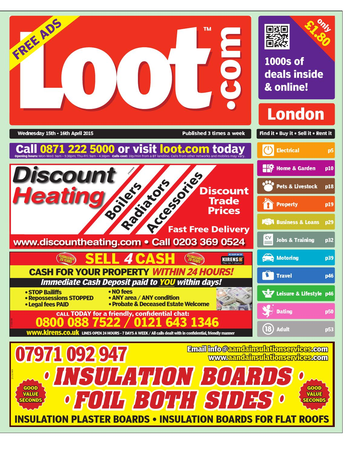 Loot London 15th April 2015 by Loot issuu