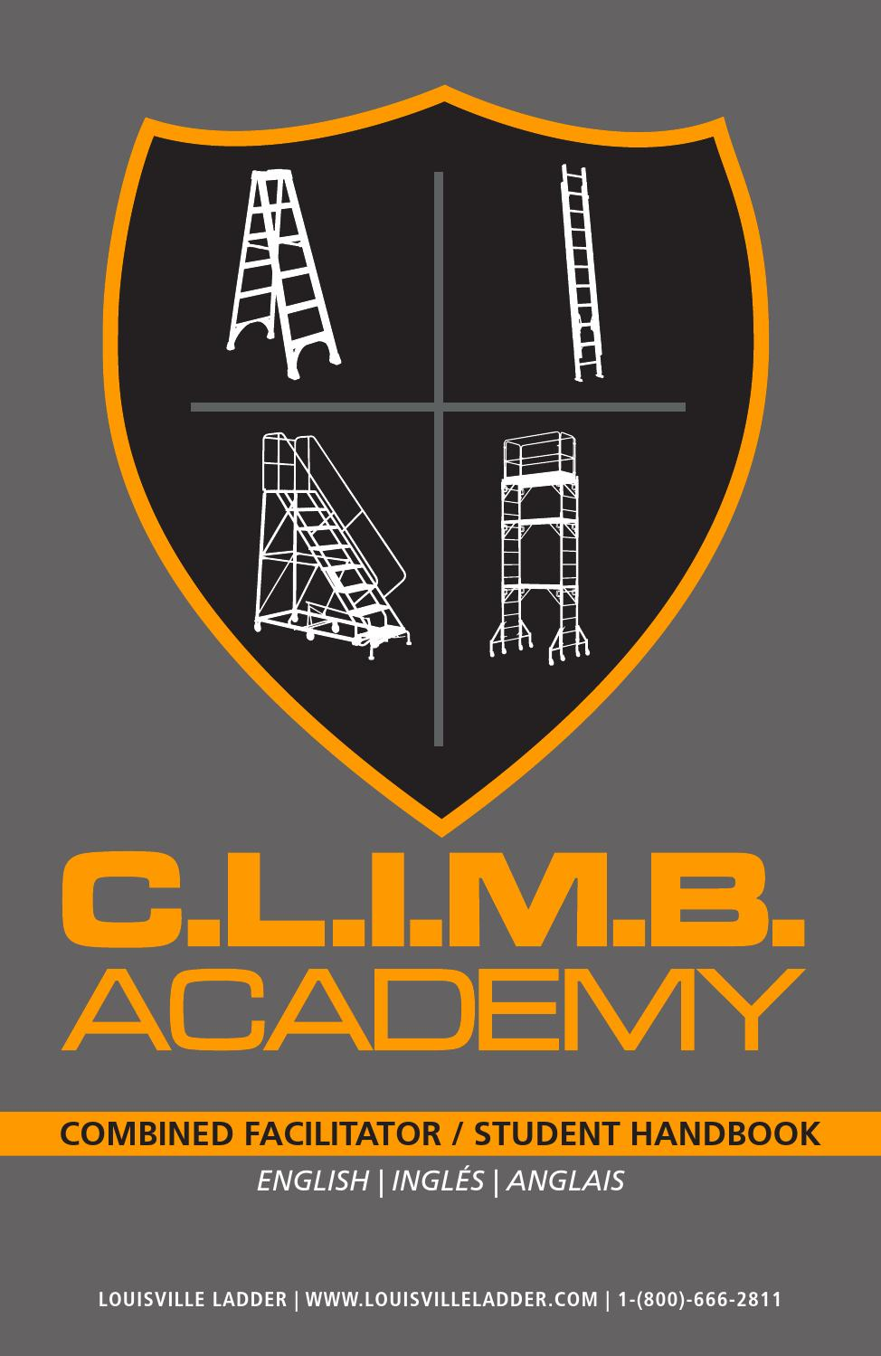 english_CLIMB_handbook by Louisville Ladder Inc. - issuu