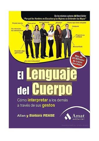Pease allan el lenguaje del cuerpo by Orlando Ramírez Onix - issuu 5106ba6e22a4