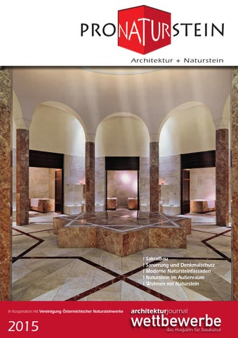 Pro Naturstein pronaturstein jahresheft 2015 by richard watzke issuu
