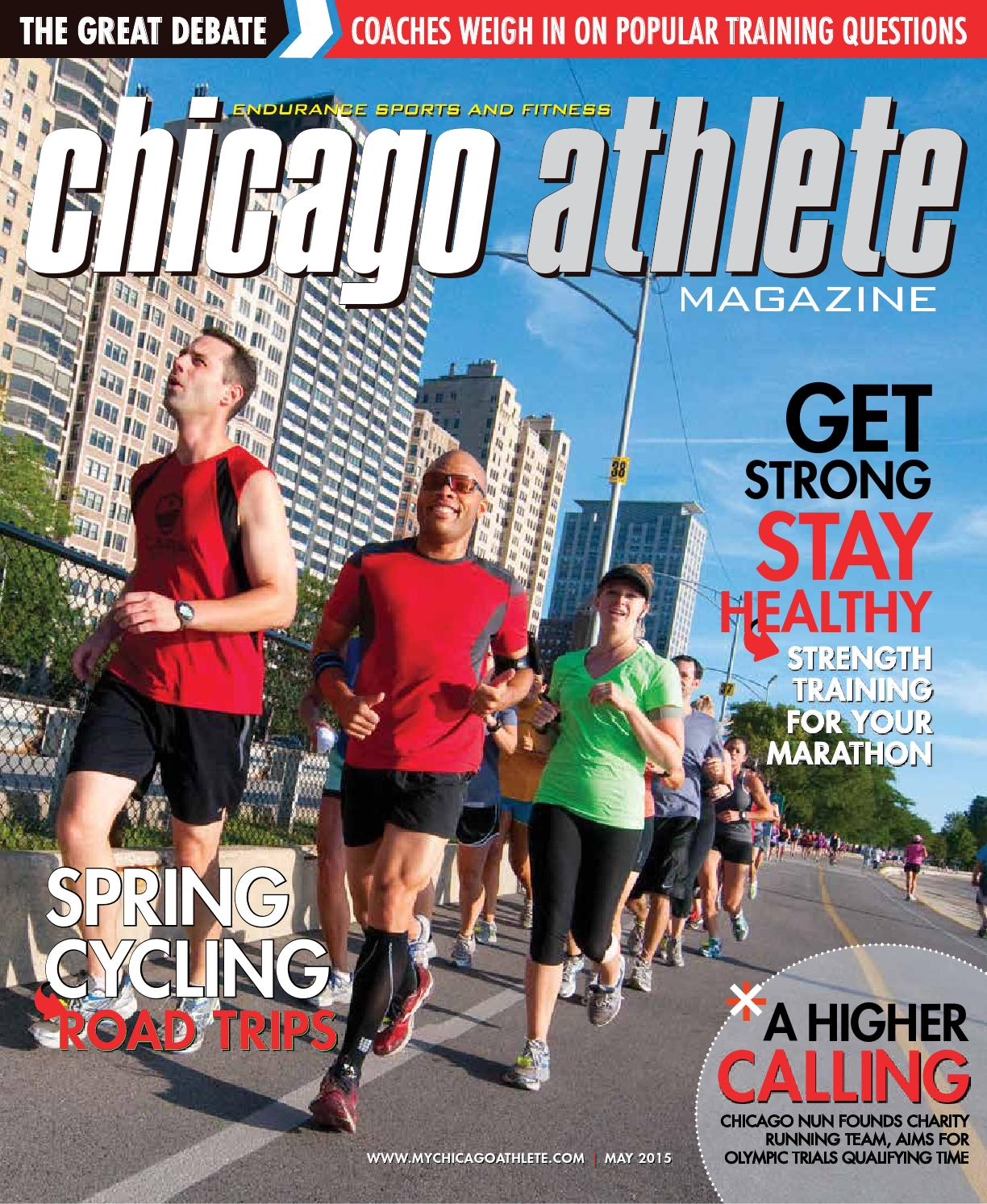 Chicago Athlete 2016 June July Issue By Kelli L Issuu Aqua Water Jogging Belt For Your Run Cross Training Post Stroke Attack Size Magazine May 2015