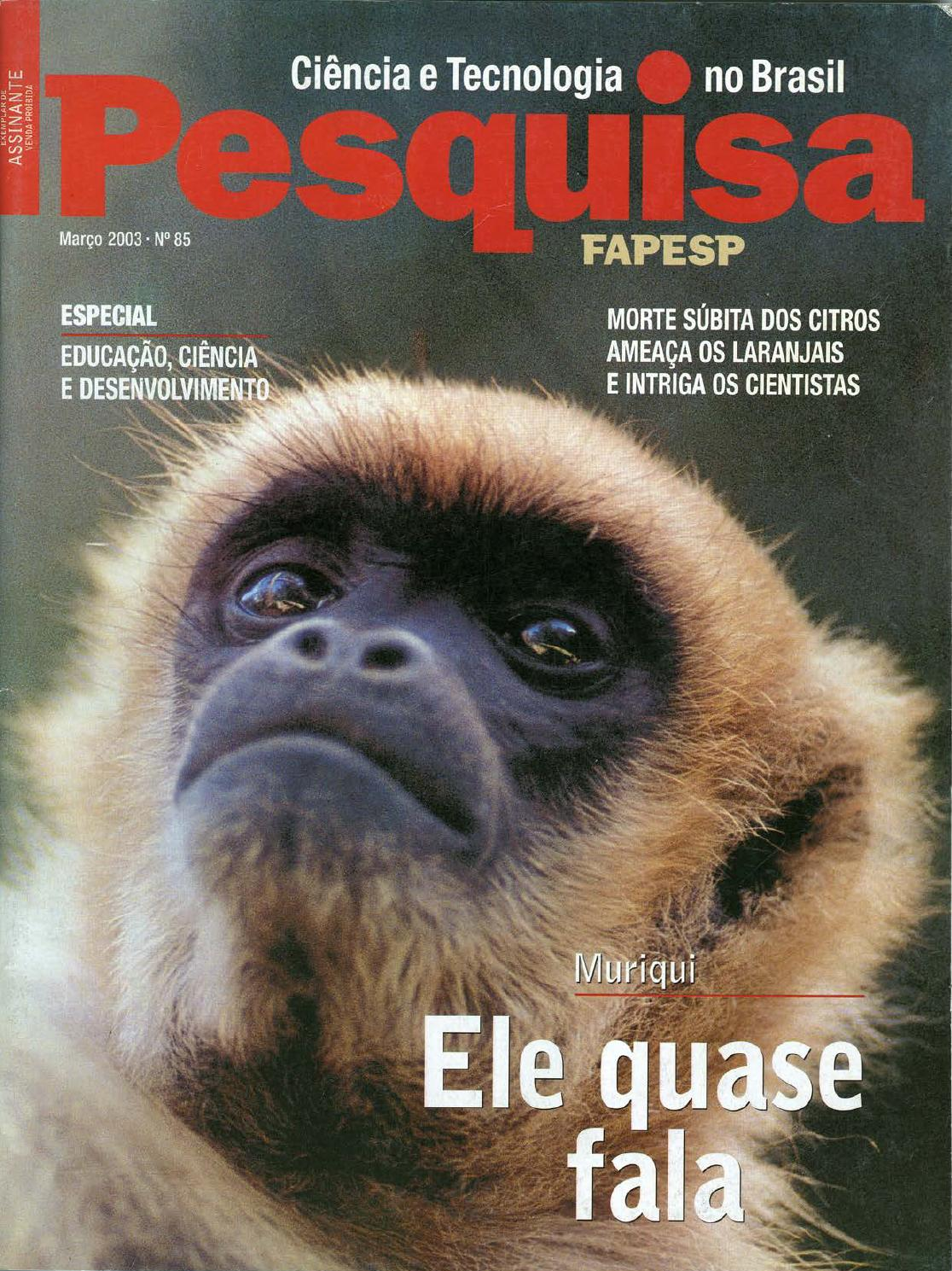 b8b65b13c79 Ele quase fala by Pesquisa Fapesp - issuu