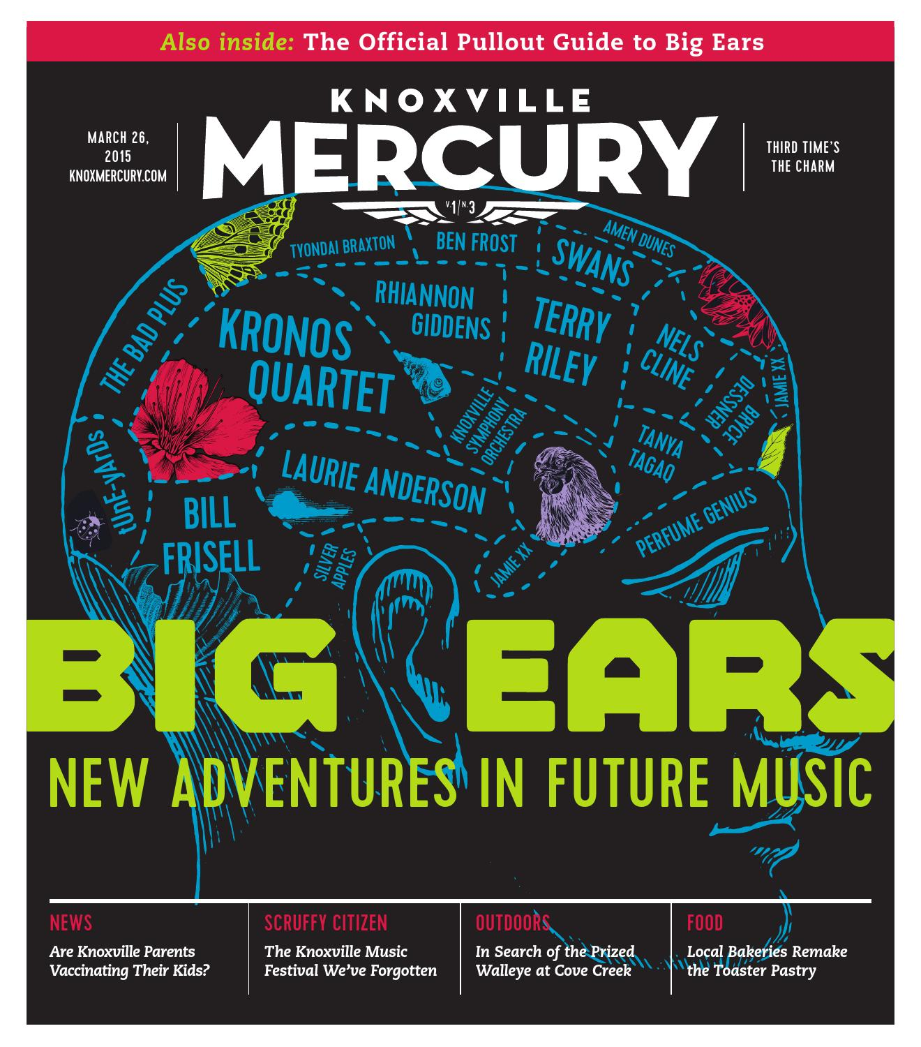 Issue 3 - March 26, 2015 by Knoxville Mercury - issuu