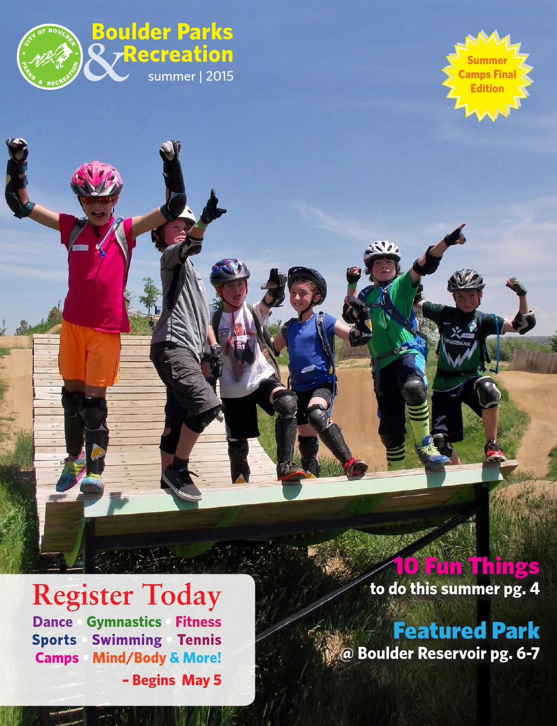Summer Guide 2015 - Boulder Parks and Recreation by City of Boulder Parks  and Recreation - issuu