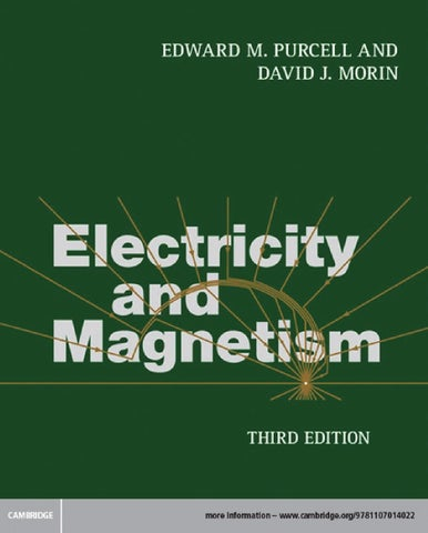 Electricity and magnetism purcell 01 100 conif by InNo ...