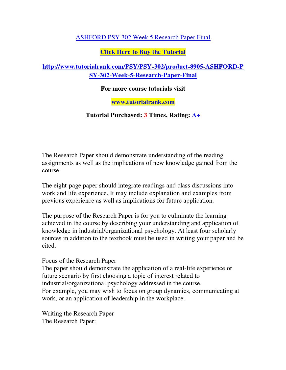 industrial organizational psychology research topics