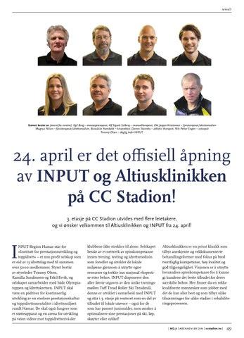 8f8fd84bc2db Cc stadion - Vårmagasin 2015 by CC Hamar - issuu