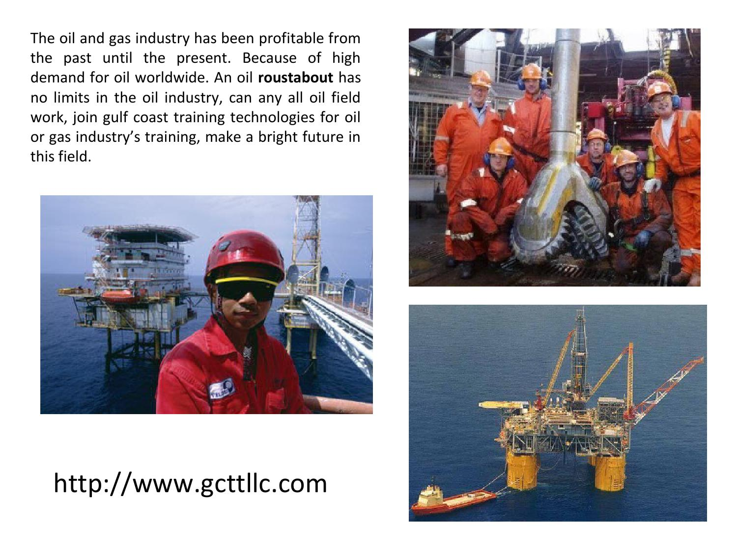 oil gas industry past present The voi concept to the oil and gas industry, yet very few real  the present, we discuss the current status of voi use in the  value of information in the oil and gas industry: past.