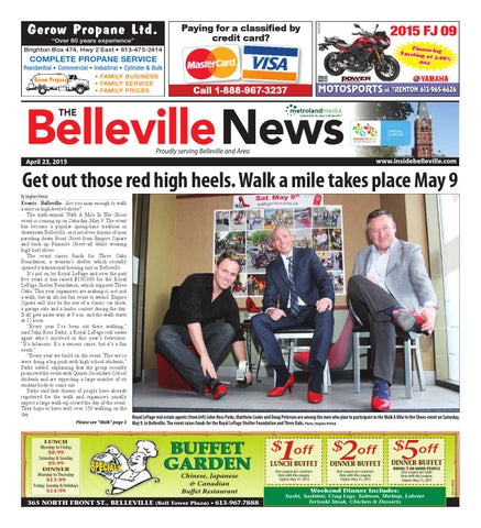 Belleville042315 By Metroland East Belleville News Issuu