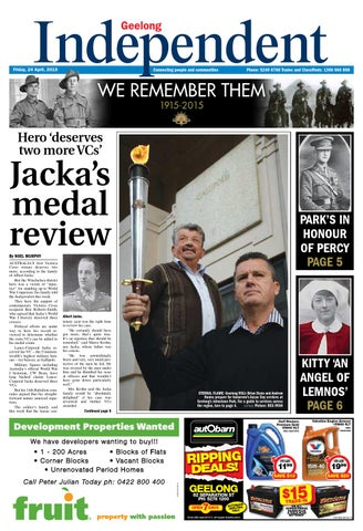 Geelong Independent - 24th April 2015 by Star News Group - issuu e7043aa91978e
