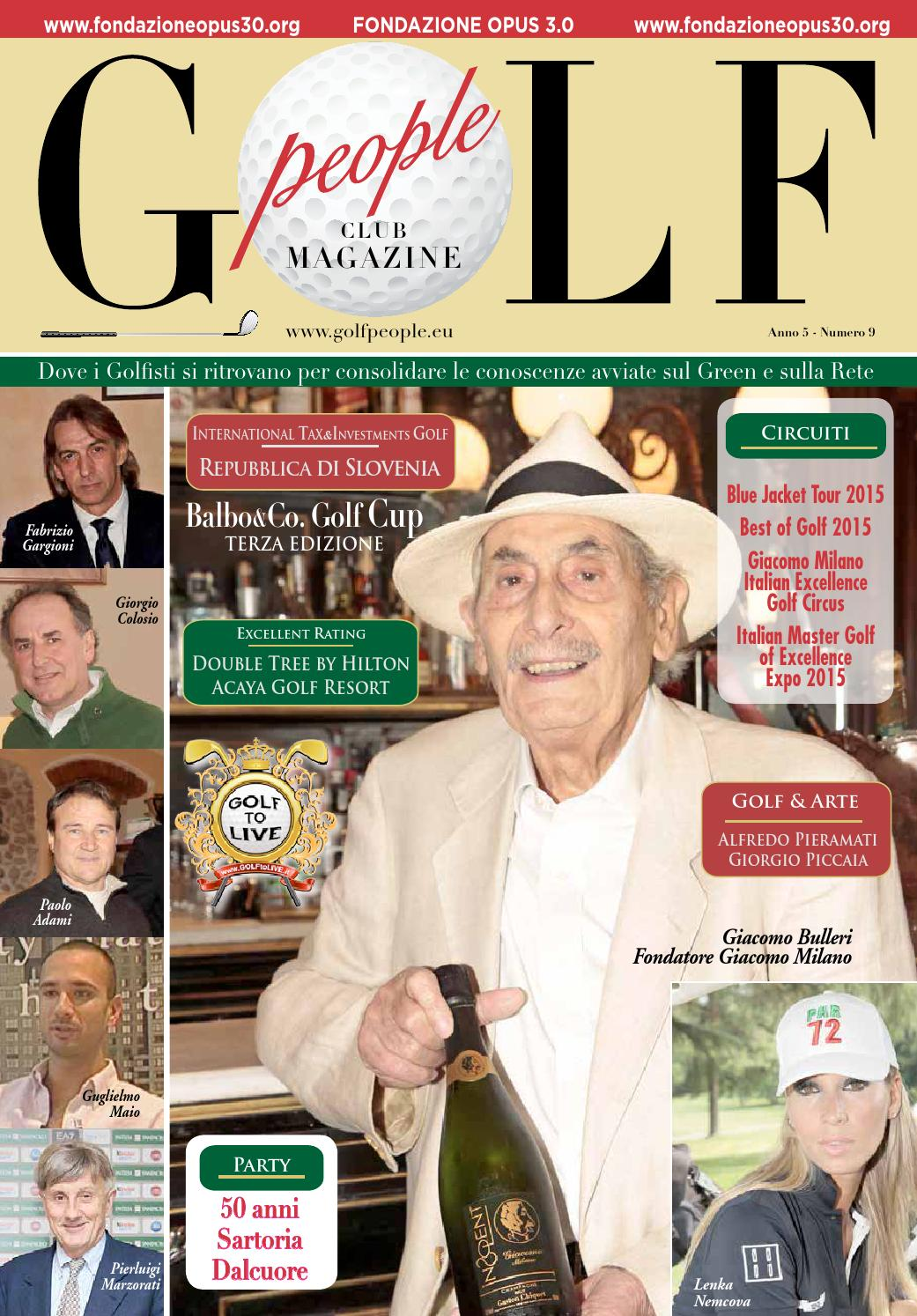 Gollf People Club Magazine 9 By Golf People Issuu