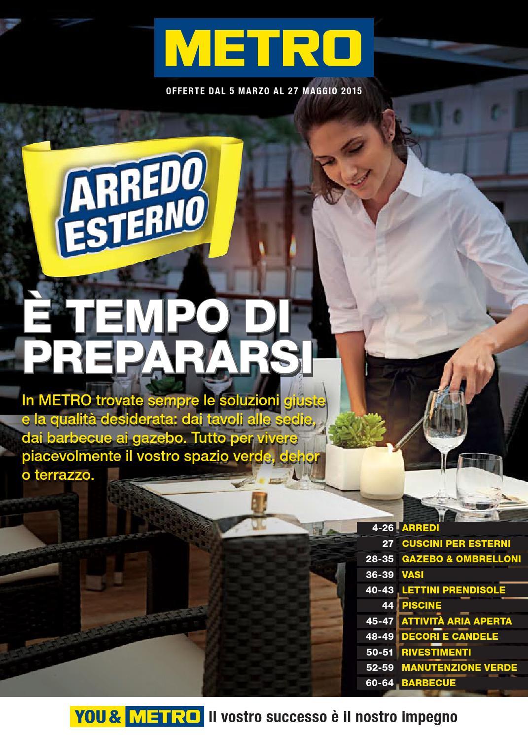 Metro italia arredo esterno 3 by masura issuu for Italia arredo