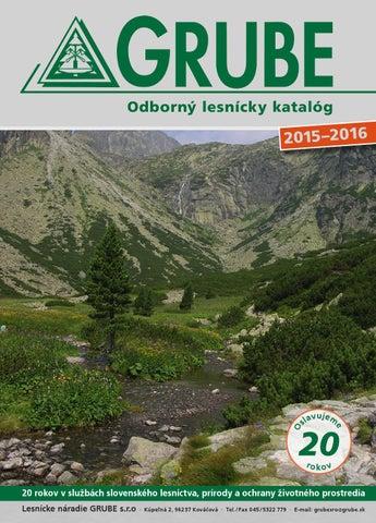 9e458f6f82 Odborný lesnícky katalóg 2015 2016 by Peter Hybsky - issuu