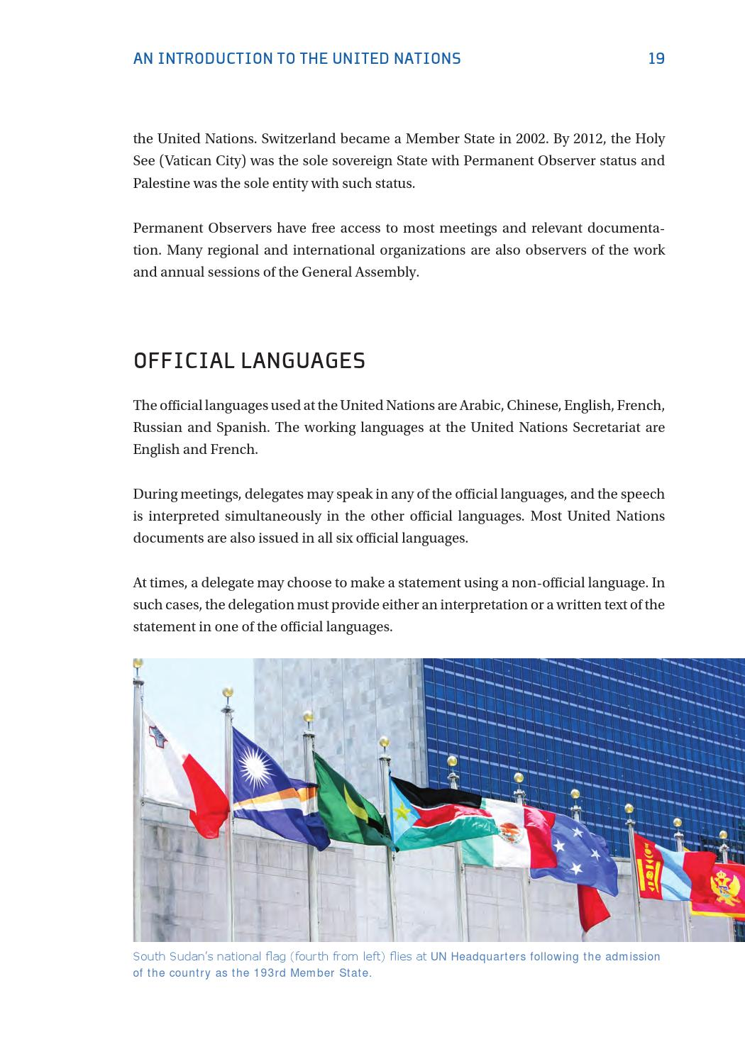 Official UN languages. Will the Russian 22