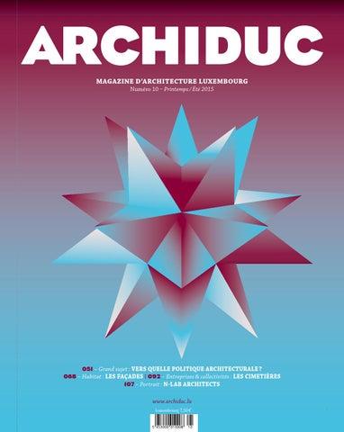 b5eabf1d4d8ac0 10 archiduc 2015 by Maison Moderne - issuu