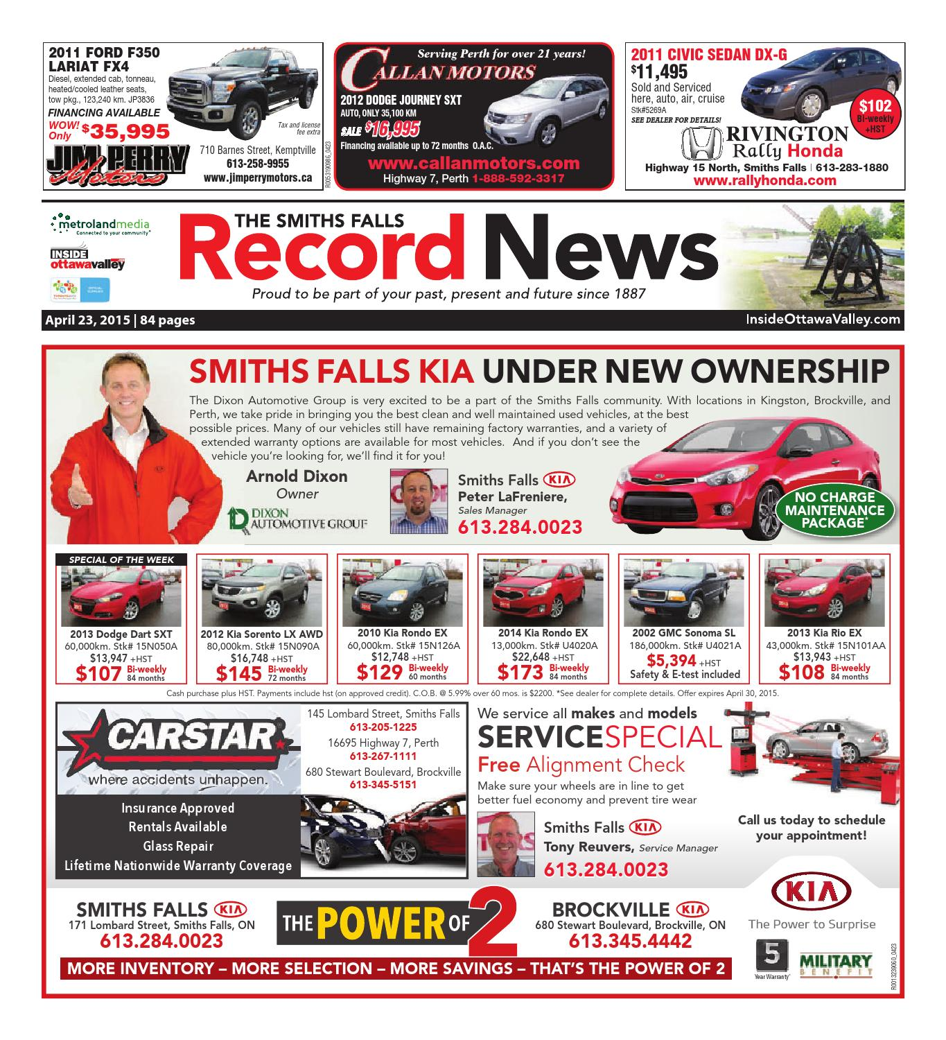 smithsfalls042315 by metroland east smiths falls record news issuu
