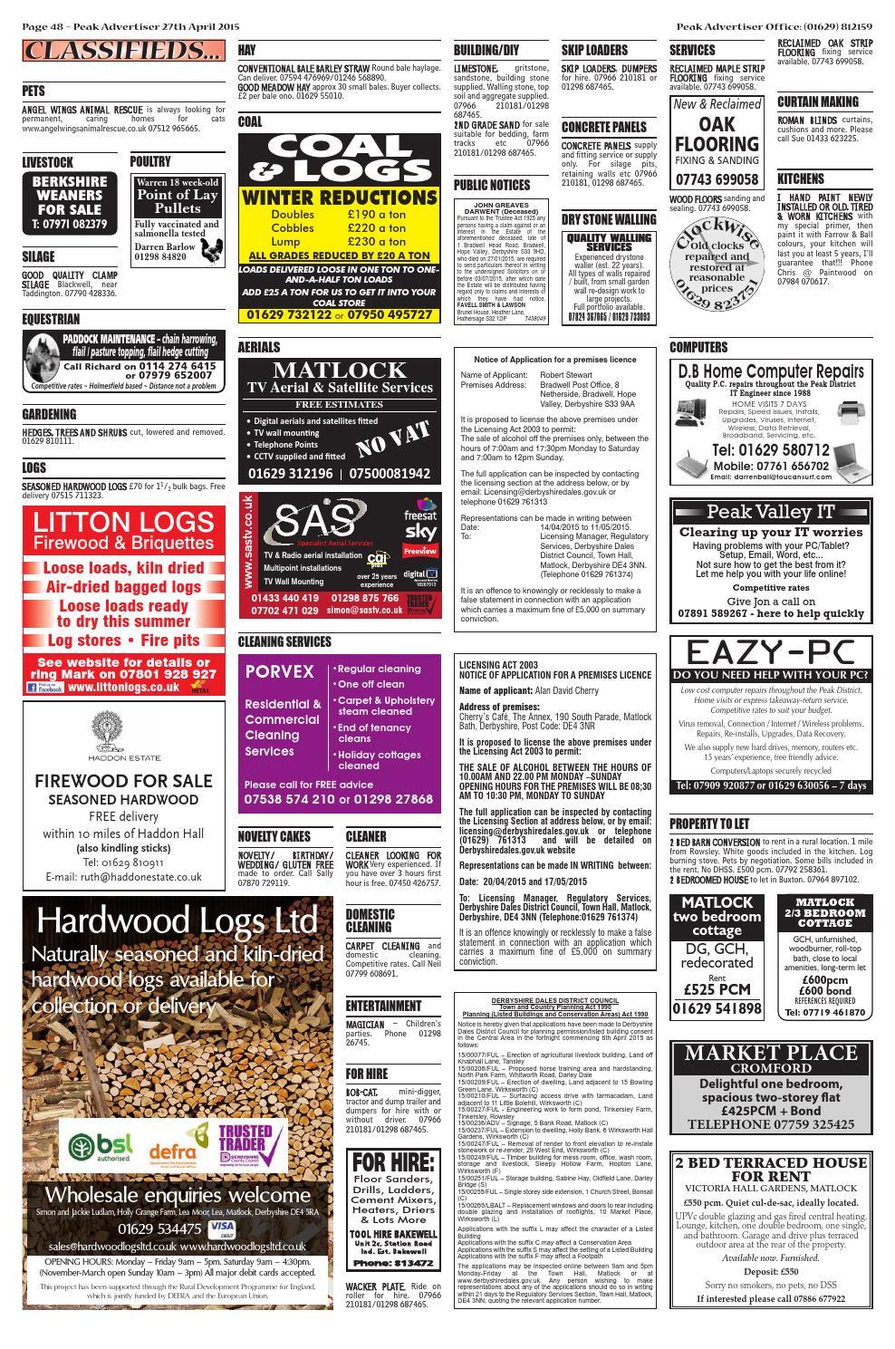 Pa 27 4 15 By Peak Advertiser