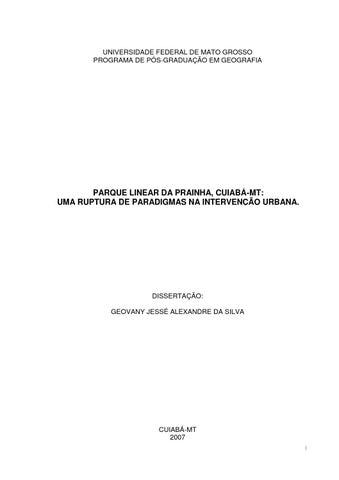 Parque Linear da Prainha - Projeto de Intervenção Urbana ... e5cf11deb3533