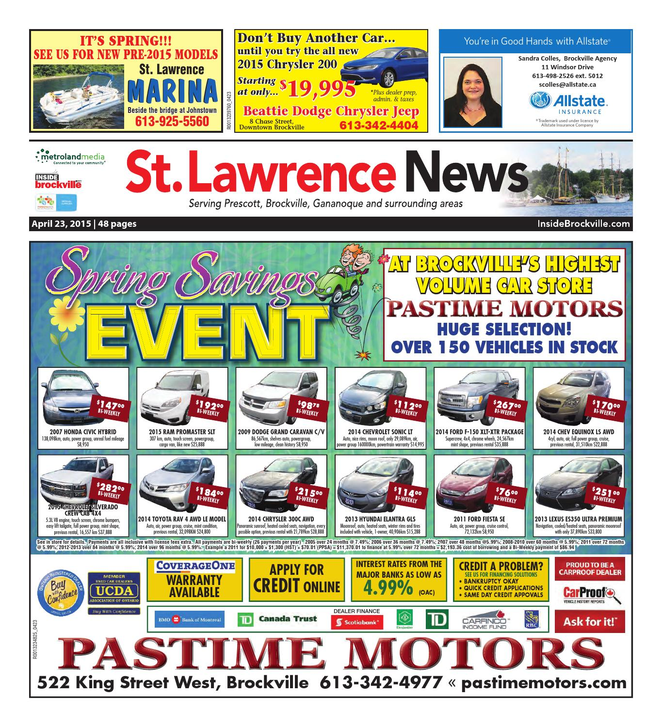 Stlawrence042315 by metroland east st lawrence news issuu fandeluxe Image collections