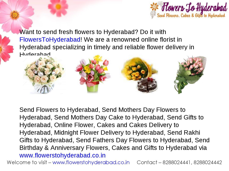 Send Online Flowers To Hyderabad By Flowerstohyderabad Issuu