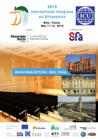 2015 Icu International Congress On Ultrasonics Abstract Book