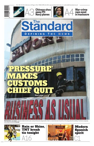 36a2d9476d581 The Standard - 2015 April 24 - Friday by Manila Standard - issuu