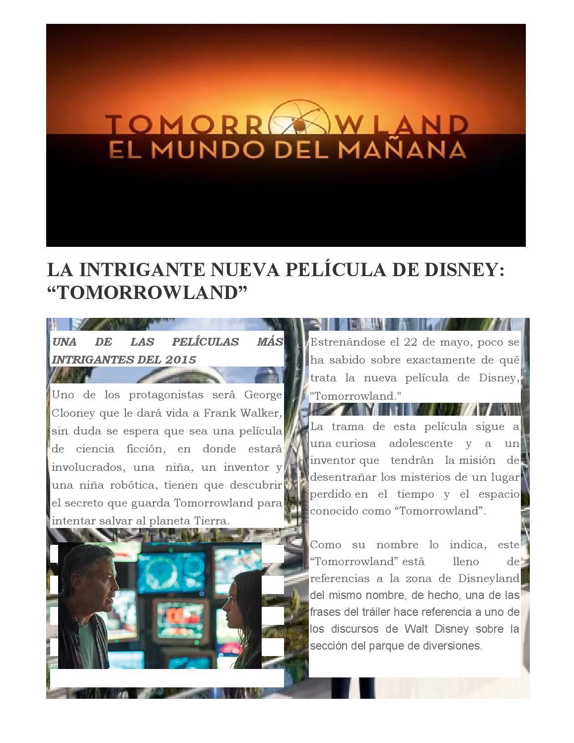 Tomorrowland By Popcorn Issuu