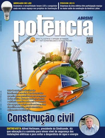 04d9b047a Revista Potência - Edição 112 - abril de 2015 by Revista Potência ...