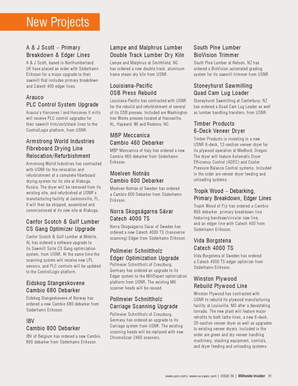 Millwide Insider #36 by USNR - issuu