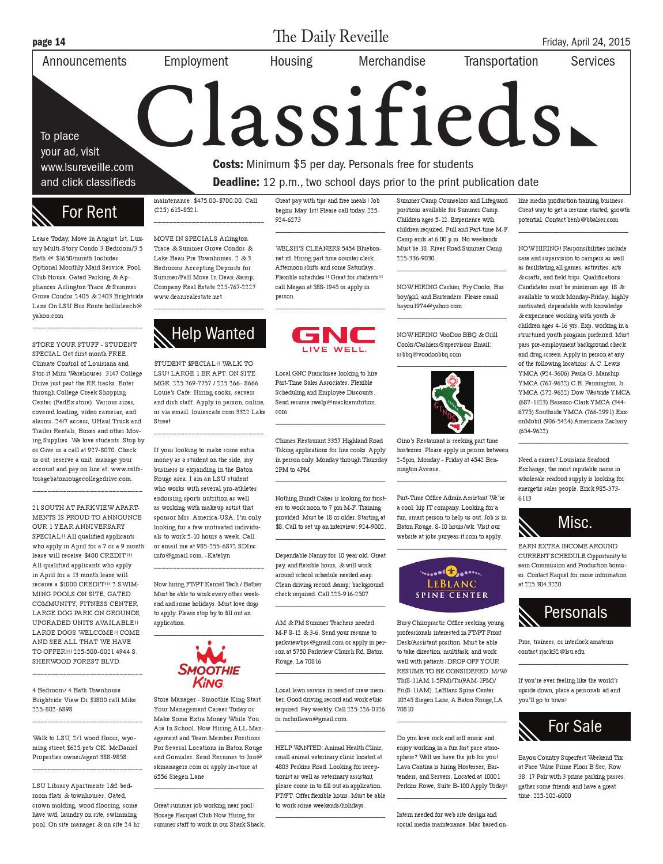 la classifieds personals