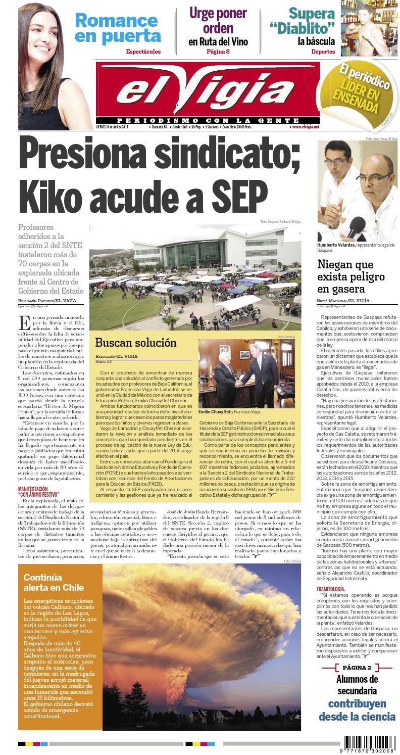 purchase cheap a8c8a ea314 Periódico El Vigía, 24 de abril de 2015 by Editorial El Vigia - issuu