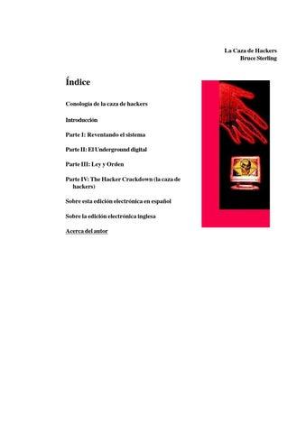 finest selection 0d7f4 dfc4e La caza de hackers by esLibre.com - issuu