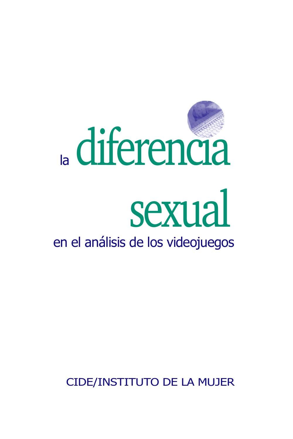 Cambio De De Sujetador Y Tanga A Una Madura Porn la diferencia sexual en el análisis de los videojuegos