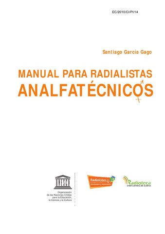 9265a2866 Manual para radialistas analfatécnicos by esLibre.com - issuu