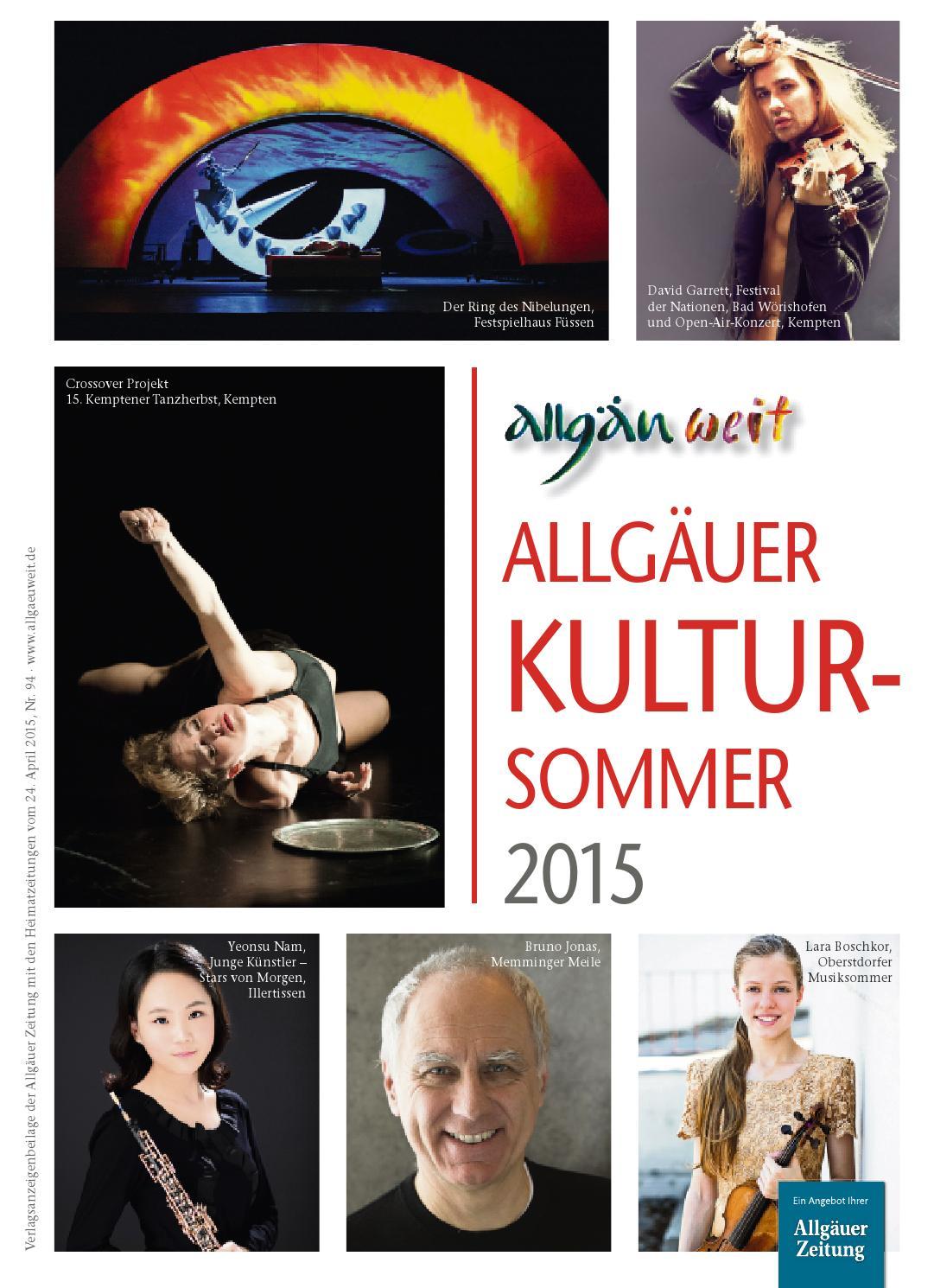Allgäuweit Allgäuer Kultursommer 2015 By Rtadesign Gmbh Issuu