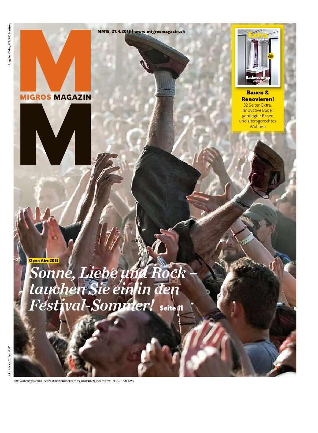 Migros magazin 18 2015 d vs by Migros-Genossenschafts-Bund - issuu