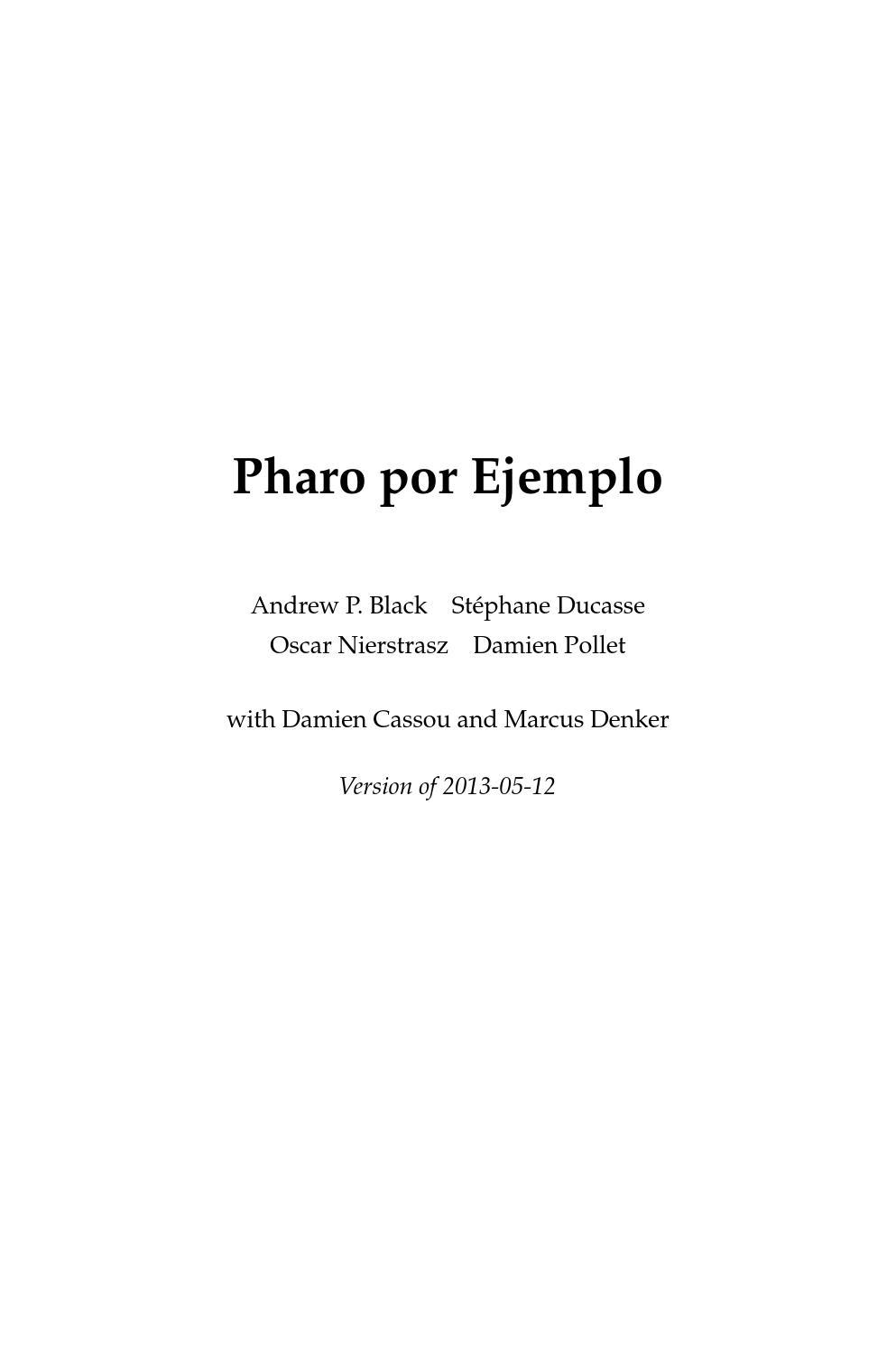 Pharo por ejemplo by esLibre.com - issuu