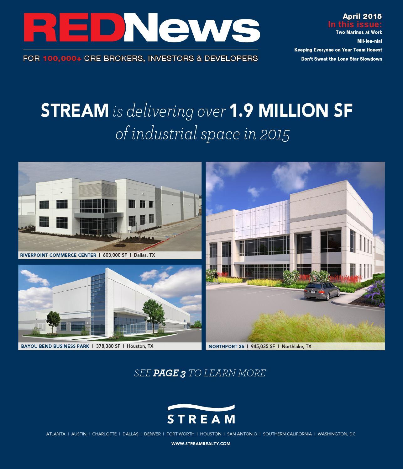 REDNews April 2015 - North Texas by REDNews - issuu