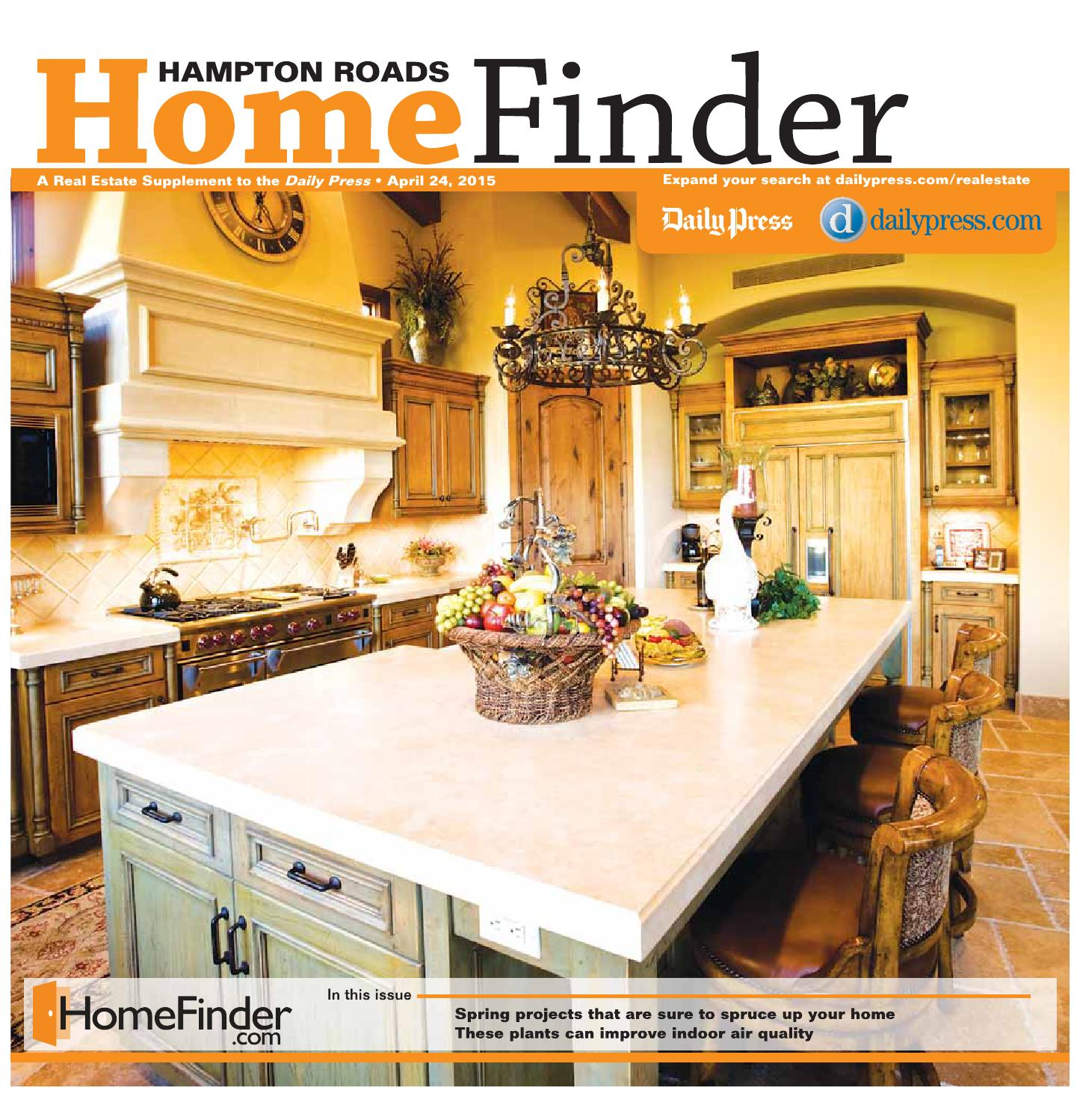 Home Finder For Rent: April 24, 2015 By Daily Press Media Group